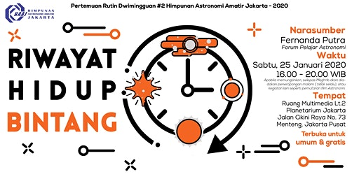 Riwayat Hidup Bintang - Pertemuan Rutin Dwimingguan 2 - 2020
