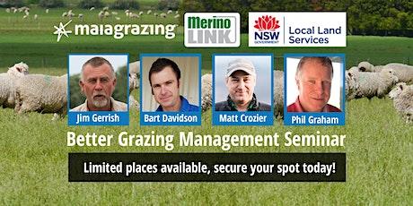 Better Grazing Management Seminar tickets