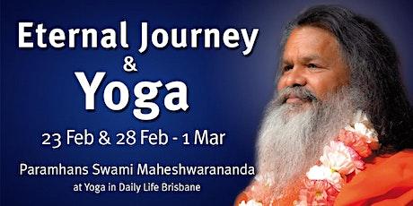 Eternal Journey & Yoga - Lecture, practice and workshop with Vishwaguruji tickets