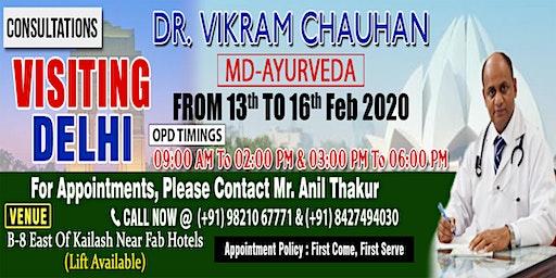 Ayurvedic Consultations in Delhi - Dr Vikram Chauhan