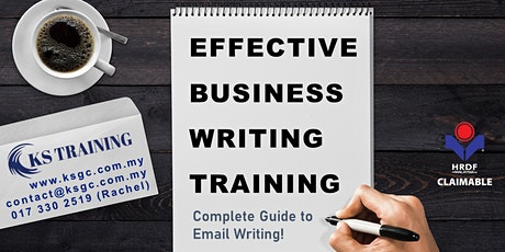 Effective Business Writing Training [HRDF Claimable] tickets