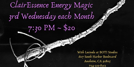 ClairEssence Energy Magic tickets
