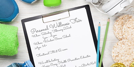 Personal Wellness Fair presented by the Windsor Circus School