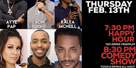 ALL OF THE LOVE (COMEDY SHOW + AFTER PARTY) tickets
