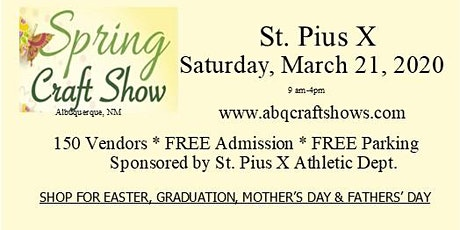 St Pius Spring Craft Show with Native Artists tickets
