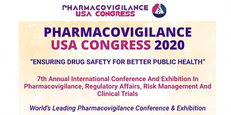 Pharmacovigilance Americas 2021 tickets