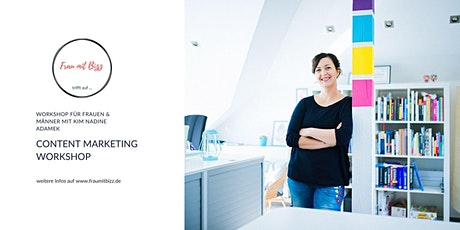 Content Marketing Workshop | Frau mit Bizz trifft auf ... Tickets