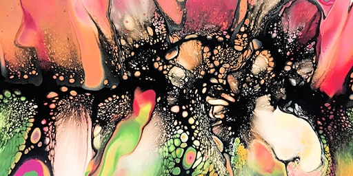 Fluid Acrylic Workshop - SheleeArt Trailblazer Masterpiece