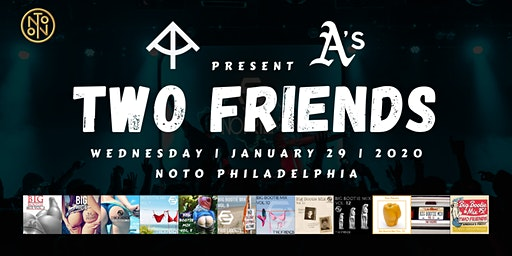 St. Rays and APES Present: Two Friends
