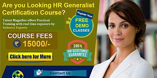 HR Generalist with SAP HR/HCM Certification Training Course, Fees Rs. 15000