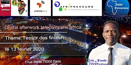 Digital Afterwork Club Télécom Paris Africa spécial Fintech. tickets