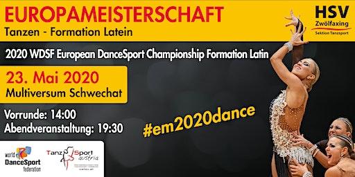 2020 WDSF DanceSport Championship Formation Latin