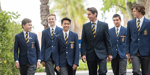 Christ Church Grammar School - Hong Kong visit