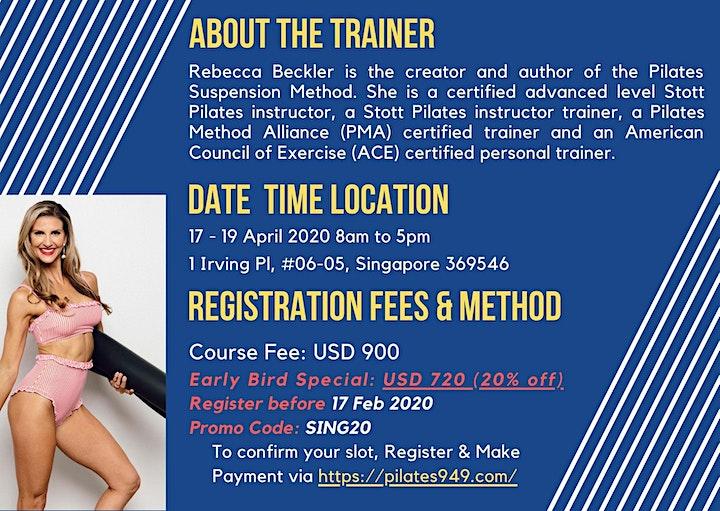 Pilates Suspension Method Course image