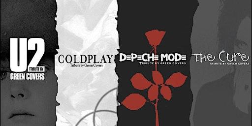 U2, Depeche Mode, The Cure & Coldplay by Green Covers en Vigo