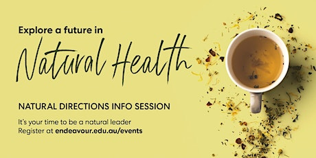 Natural Directions Info Sessions - Gold Coast - 6th February 2020 tickets