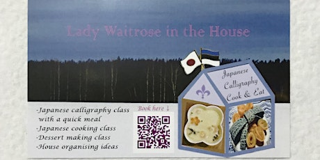 Japanese cookery workshop tickets