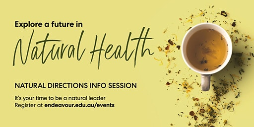 Natural Directions Info Sessions - Brisbane - 6th February 2020
