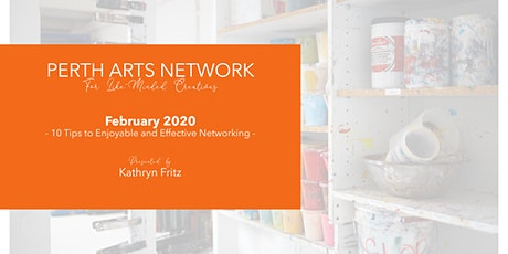 Perth Arts Network - February 2020 tickets