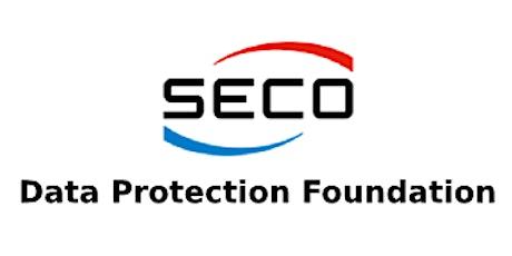 SECO – Data Protection Foundation 2 Days Virtual Live Training in Hamilton City tickets