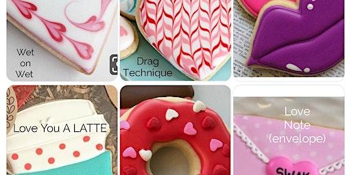 Valentine's Day Beginner Level Cookie Decorating Class
