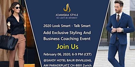 2020 Look Smart Talk Smart bilhetes