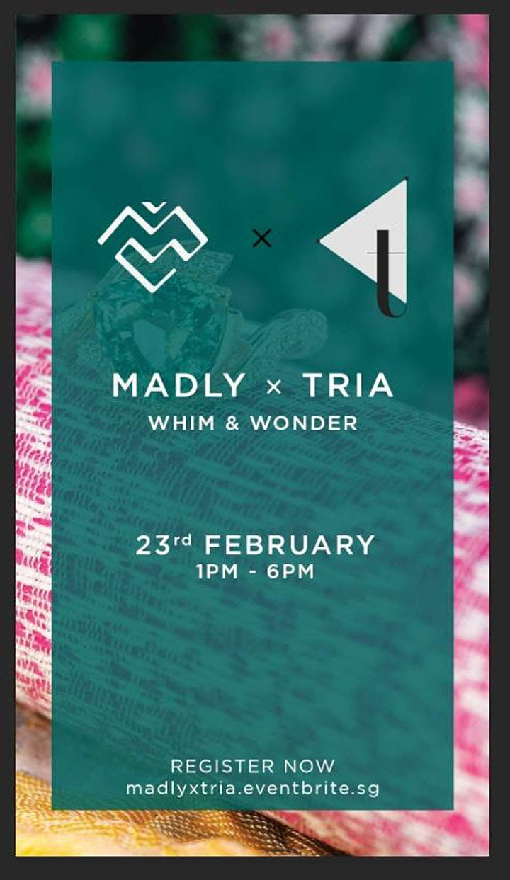 MADLY x TRIA - Whim & Wonder image