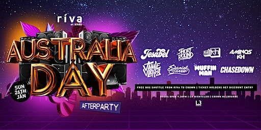 AUSTRALIA DAY - RIVA DOWN UNDER 2020 AFTERPARTY