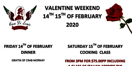 Valentine Dinner tickets