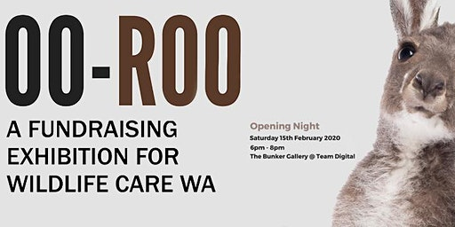OO-ROO: a fundraising exhibition for Wildlife Care WA inc.