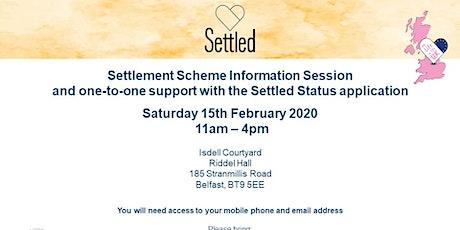 Settlement Scheme Information Session in Belfast tickets