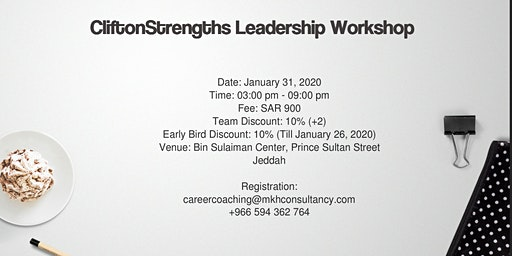 CliftonStrengths Leadership Workshop (CSL)