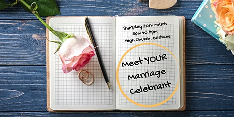 Meet Your Marriage Celebrant tickets