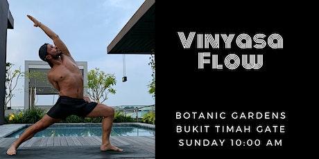 Vinyasa Flow @ Botanic Gardens tickets