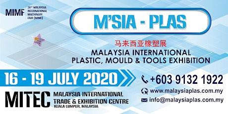Malaysia International Plastic, Mould & Tools Exhibition tickets