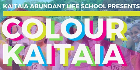 COLOUR KAITAIA 2020 (Colour Run) tickets