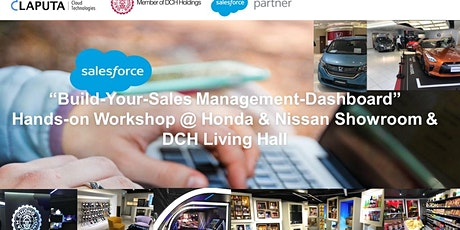 """Build-Your-Sales Management-Dashboard"" Workshop tickets"