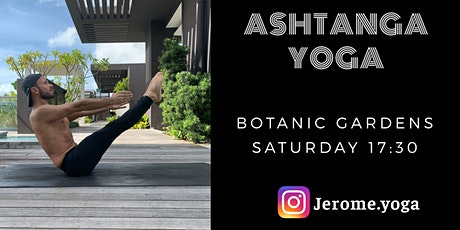 Ashtanga yoga @ Botanic Gardens tickets