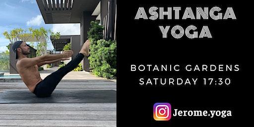 Ashtanga yoga @ Botanic Gardens