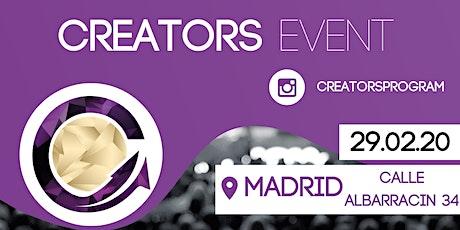 Creators Event entradas