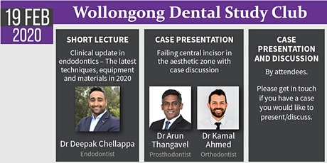 Wollongong Dental Study Club tickets
