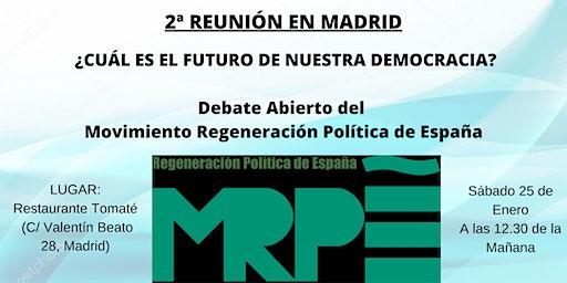 Reunión MRPE Madrid
