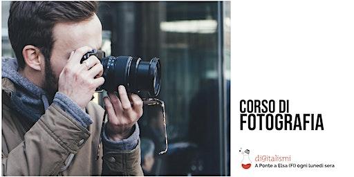 Corso di Fotografia base dal 17 Febbraio 2020