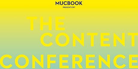 CONTENT CONFERENCE – Bayerns großer Netzwerk-Kongress für digitale Medien Tickets