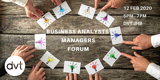 Business Analysts Managers Forum