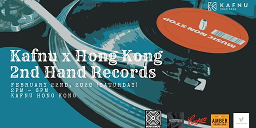 Kafnu x Hong Kong 2nd Hand Records