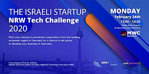 CANCELLED - Israel Startup - NRW Tech Challenge @MWC