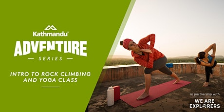 SOLD OUT Adventure Series: Women's Intro to Bouldering & Yoga // AKL tickets