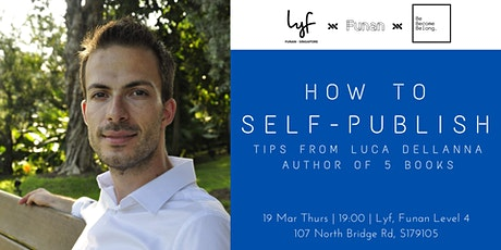 How to Self-publish  tickets