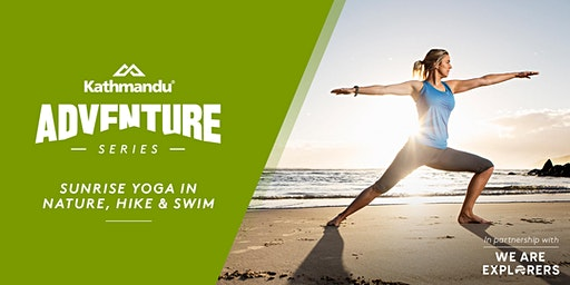 Adventure Series: Sunrise Yoga in Nature, Hike & Swim // SYD
